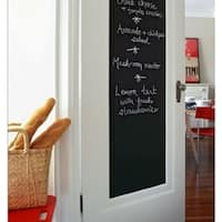 Black Chalkboard Write-on Removeable Vinyl Wall Sticker