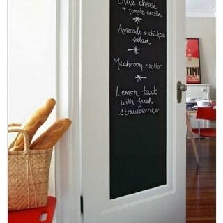 Black Chalkboard Write-on Removeable Vinyl Wall Sticker