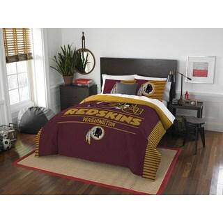 The Northwest Company NFL 849 Redskins Draft Full/Queen 3-piece Comforter Set