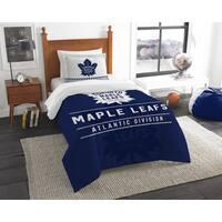 The Northwest Company NHL Toronto Maple Leafs Draft Twin 2-piece Comforter Set