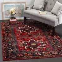 Safavieh Vintage Hamadan Traditional Red/ Multi Ar