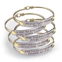 Sweet Romance Of the Spirit Inspirational Bible Verse Bracelets
