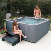 AquaRest Elite 600 6-P Spa with 29 SS Jets and LED Wtrfll
