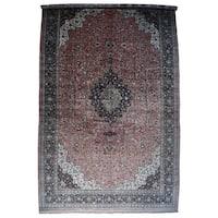 "Hand-Knotted Mansion Size Silk Qum Carpet (17'x27'5"")"