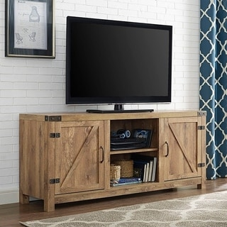 Charmant The Gray Barn Firebranch Barn Door TV Stand With Doors