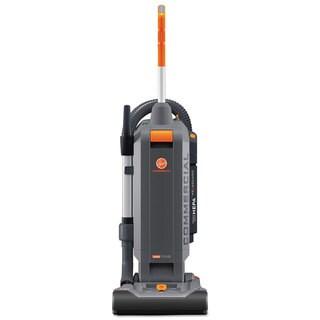 Hoover Commercial HushTone Vacuum Cleaner with Intellibelt 13-inch Orange/Grey