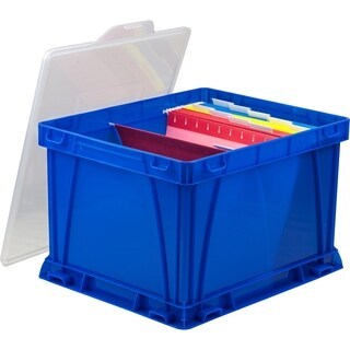 Storex Storage & Filing Cube/ School Blue (3 units/pack)
