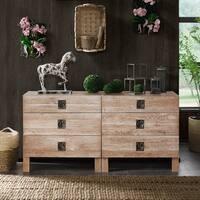 INK+IVY Oaktown Reclaimed Grey Dresser