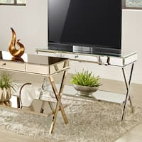 Omni X-Base Mirrored TV Stand with Drawer by iNSPIRE Q Bold