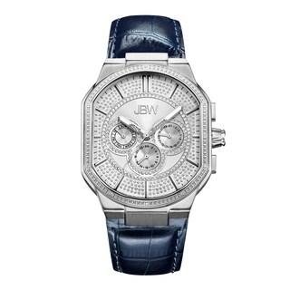 JBW Men's Orion Stainless Steel Diamond Watch - Silver