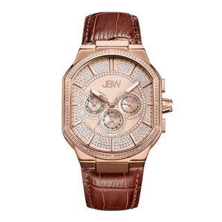 Jbw Men'S Orion Rose Goldplated Stainless-Steel Diamond Watch - Gold