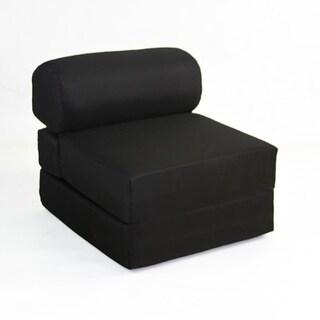 Juvenile Studio Chair Sleeper - Black
