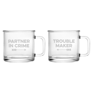 Partner in Crime Camp Mug (Set of 2)