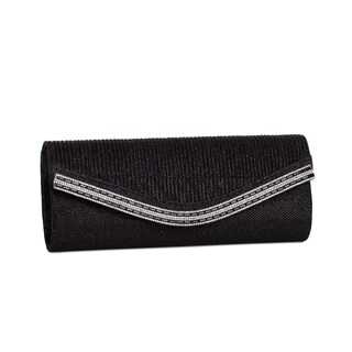 J. Furmani Helena Black Evening Handbag
