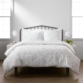 Merit Linens Premium Ultra-soft Vine Pattern 3-piece Duvet Cover Set