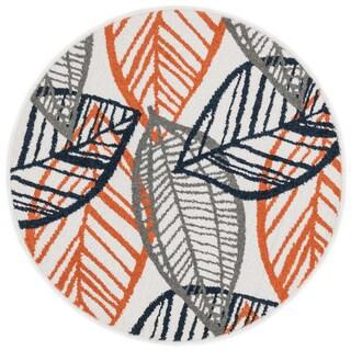Palm Leaf Rug - 3' x 3'