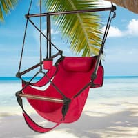 High Strength S-hook Cacolet Red Hanging Seat
