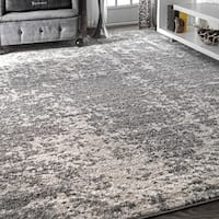 Porch & Den Williamsburg Seigel Faded Mist Shades Grey Area Rug - 10' x 14'