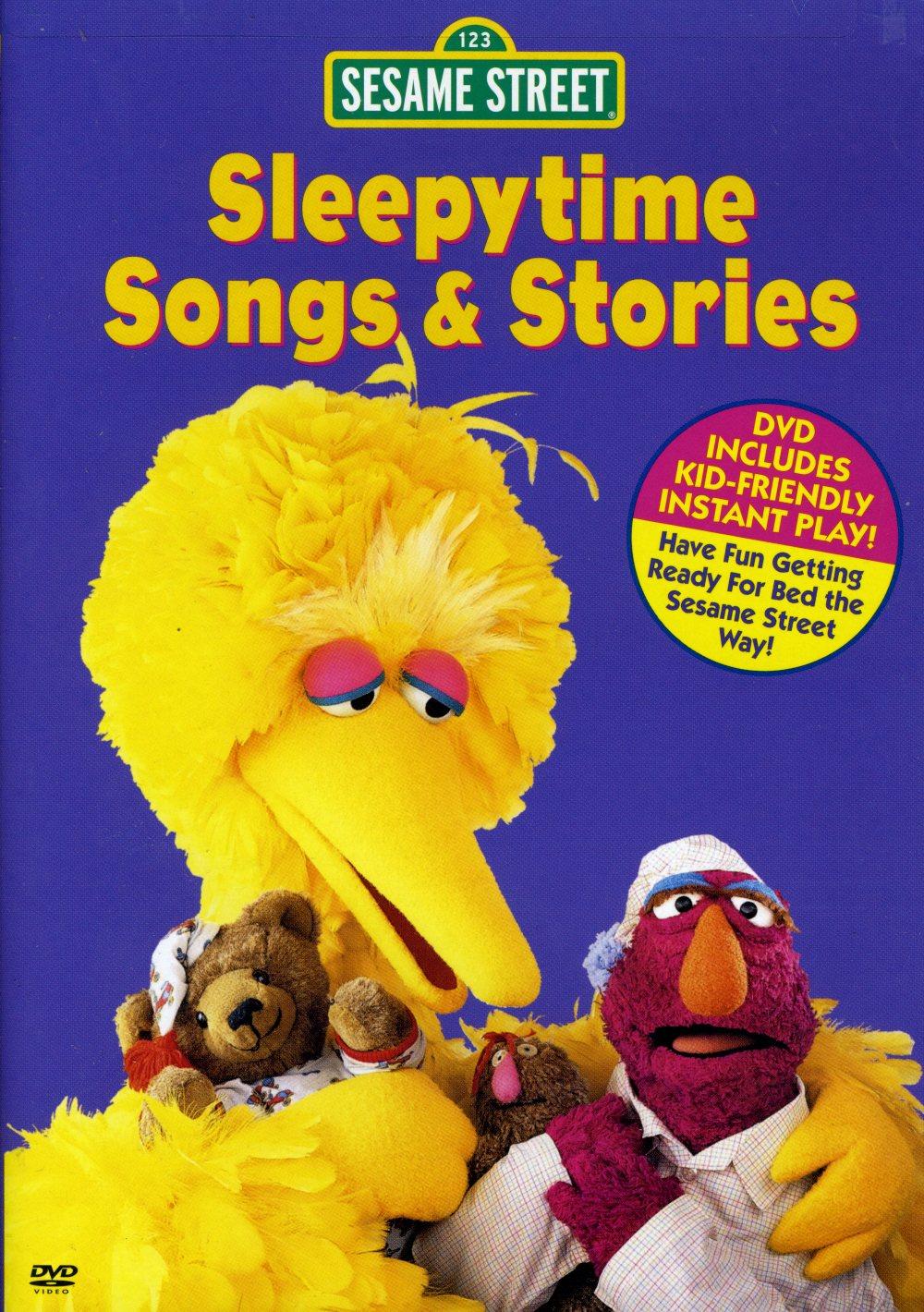Sesame Street Sleepytime Songs And Stories Vhs