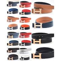 68e63efac02 Shop Ferragamo Men s Adjustable Tonal Gancini Belt - On Sale - Free ...
