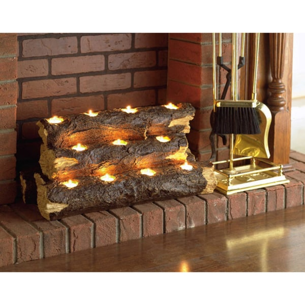 Accent Pieces For Home: Harper Blvd Tealight Fireplace Log