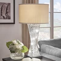 Aquila Caged Table Lamp with LED Night Light by iNSPIRE Q Bold