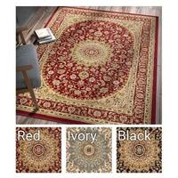 Well Woven Agra Traditional French Country Aubusson Floral Area Rug - 7'10 x 10'6