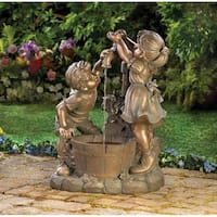 Happy Childern Old Fashioned Water Fountain