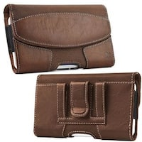 Insten Leatherette Case Cover with Belt Clip/ Wallet Flap Pouch For Samsung Galaxy Note