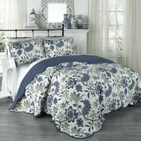 Traditions by Waverly Maldives 3-Piece Quilt Collection