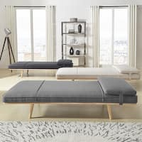 Chiyo Chaise Lounge Oversize Bench with Pillow iNSPIRE Q Modern