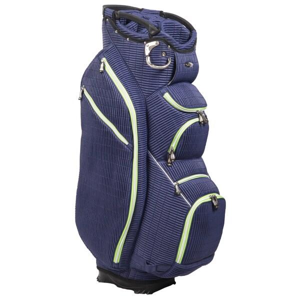 Shop Ouul Ribbed 15 Way Golf Cart Bag Free Shipping