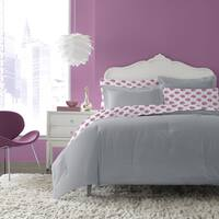 Betsey Johnson Betsey Gray 7-piece Bed in a Bag Set