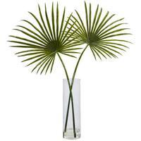 Nearly Natural Fan Palm Arrangement
