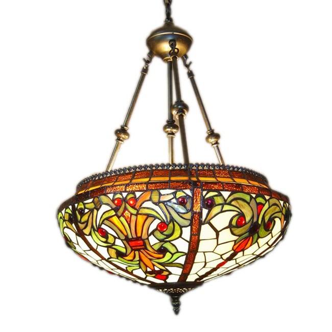 Tiffany Style Baroque Hanging Pendant Lamp 10039857