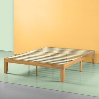 Priage Solid Wood Platform Bed, Natural