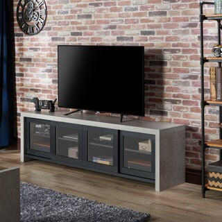 Carbon Loft Whitworth Industrial Cement-like Multi-storage TV Stand