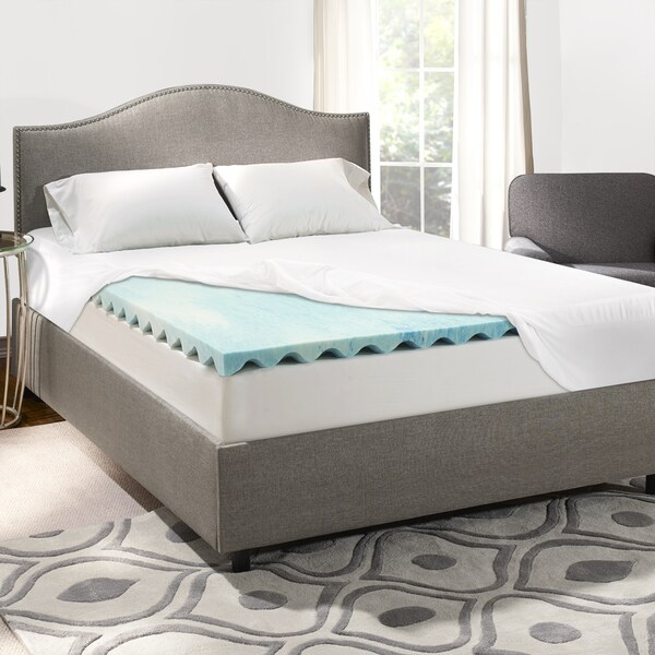 Sleep Innovations 3 Inch Swirl Gel Memory Foam Mattress