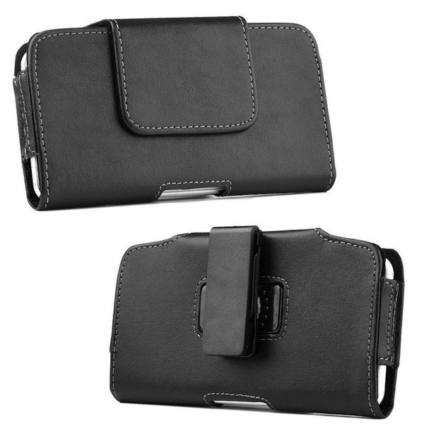 Insten Black Leather Case Cover with Belt Clip For Samsung Galaxy Note