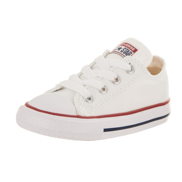 UPC 022859348461. Converse Chuck Taylor Infants Toddler Optical White Ox  Canvas Skateboarding Shoes ... 186188b0f