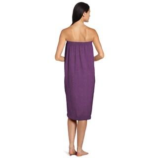 Eggplant Shower Wrap
