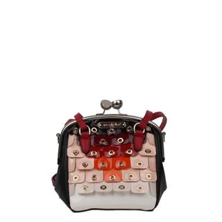 Nicole Lee Laquinta Ombre Scale Mini Shoulder Handbag