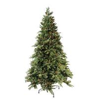 7.5' Green River Spruce Pre-Lit Artificial Christmas Tree - Clear Lights