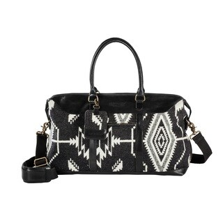 Pendleton Tsi Mayoh Black Getaway Duffel Bag