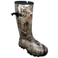 "Men's 17"" Rubber Side Zip Boot Camo"
