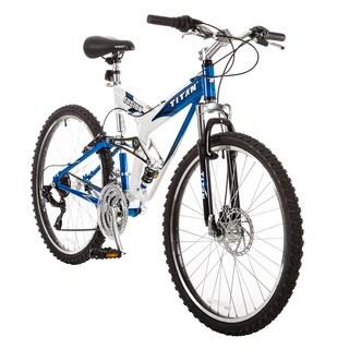 TITAN Fusion Dual Suspension Mountain Bicycle, 21-Speeds