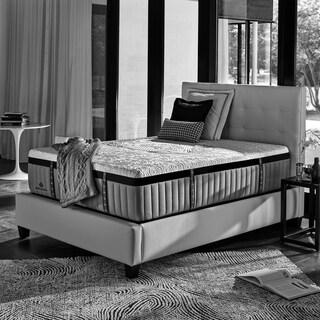 Kingsdown Crown Imperial Mantle 16-inch Full XL Luxury Plush Hybrid Mattress Set