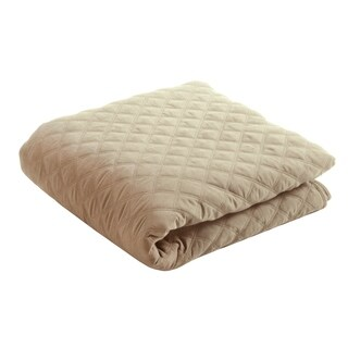 """EARTHLITE Microfiber Quilted Blanket - Reversible, Machine-Washable, 60""""x90"""""""