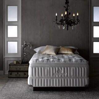 Kingsdown Vintage Interfusion 17-inch Full XL Pillow Top Luxury Mattress Set