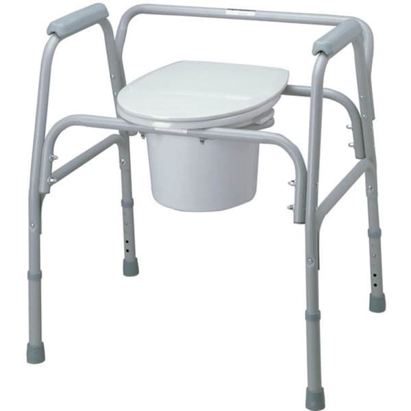 Medline Bariatric 4 In 1 Commode 10128798 Overstock